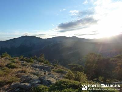 Pico Perdiguera, asociaciones senderismo madrid; excursiones de un dia
